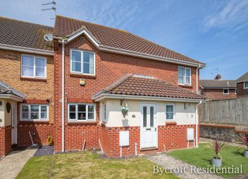 Thumbnail 2 bed terraced house for sale in Cloverland Drive, Hemsby, Great Yarmouth