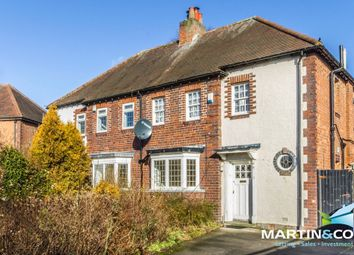Thumbnail 3 bedroom semi-detached house for sale in Newnham Road, Edgbaston