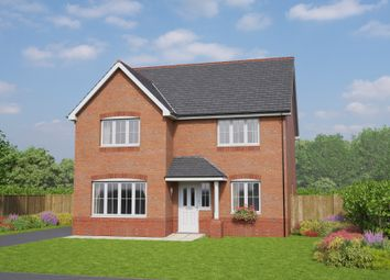 Thumbnail 4 bed detached house for sale in The Brecon, Cymau Lane, Ambermorddu, Flintshire