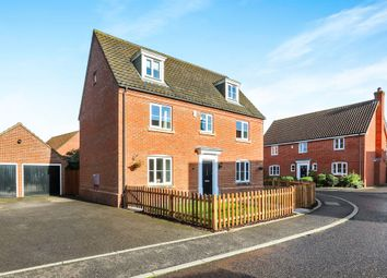 Thumbnail 5 bed detached house for sale in Tummel Way, Attleborough