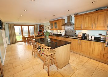 Thumbnail 4 bed detached house for sale in Llangorse Drive, Rogerstone, Newport