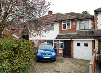 Thumbnail 4 bed semi-detached house for sale in Monks Road, Binley Woods, Coventry