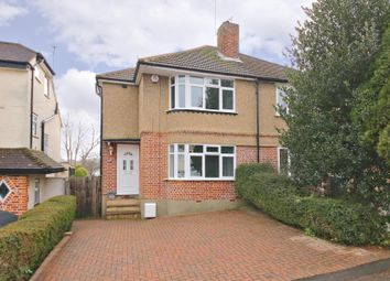Thumbnail 3 bed semi-detached house to rent in Oakleigh Drive, Croxley Green, Rickmansworth