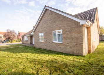 Thumbnail 4 bedroom detached bungalow for sale in Hill House Lane, Croxton, Thetford
