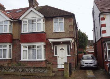 Thumbnail 3 bed semi-detached house to rent in Lorne Road, Wealdstone, Harrow
