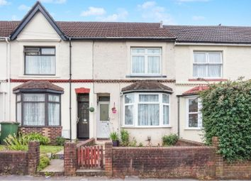 Thumbnail 2 bed terraced house for sale in Manor Road North, Itchen, Southampton