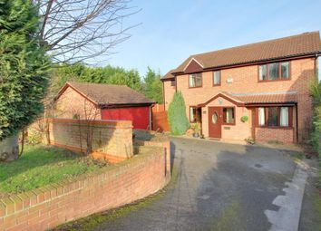Thumbnail 4 bed detached house for sale in Harewood Close, Sandiacre, Nottingham