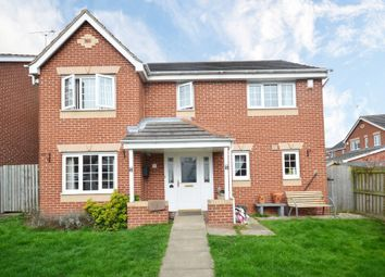 Thumbnail 4 bed detached house for sale in Troon Close, Normanton