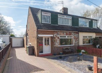 Thumbnail 3 bedroom semi-detached house for sale in Westroyd Gardens, Pudsey