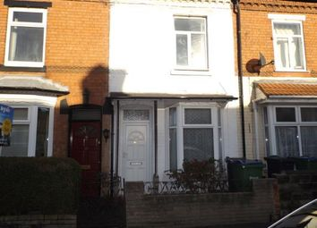 Thumbnail 2 bed terraced house for sale in Ethel Street, Bearwood, West Midlands