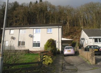 Thumbnail 3 bed semi-detached house for sale in Arran Park, Shore Rd, Innellan, Dunoon