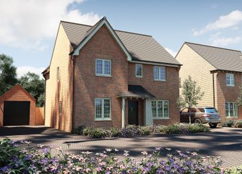 "Thumbnail 4 bed detached house for sale in ""The Berrington"" at Thatcham Road, Walton Cardiff, Tewkesbury"