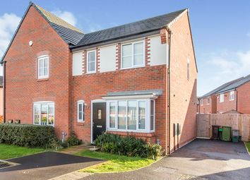 Thumbnail 3 bed semi-detached house for sale in Vale Royal Close, Lostock Gralam, Northwich, Cheshire