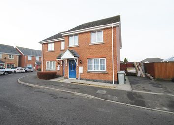 Thumbnail 3 bed semi-detached house for sale in Simpson Close, Chapel St. Leonards, Skegness