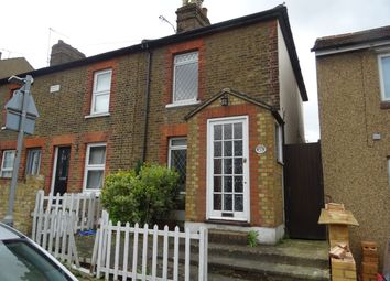 Thumbnail 2 bed end terrace house to rent in Weald Road, Brentwood