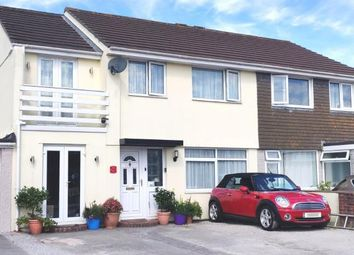 Thumbnail 4 bed semi-detached house for sale in Threemilestone, Truro, Cornwall