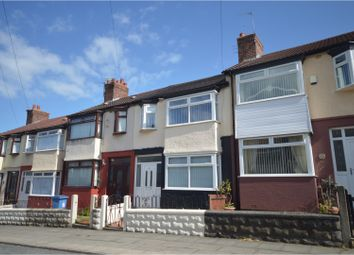 Thumbnail 3 bed terraced bungalow to rent in Saville Road, Liverpool