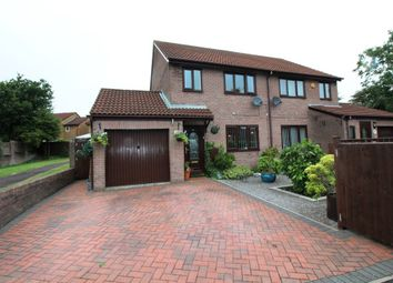 Thumbnail 3 bed semi-detached house for sale in Apseleys Mead, Bradley Stoke, Bristol