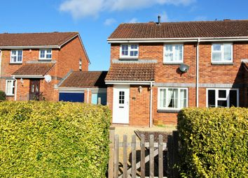 Thumbnail 3 bed semi-detached house for sale in Wesley Way, Alphington, Exeter