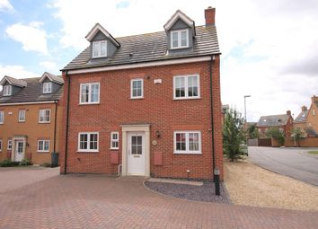 Thumbnail 5 bed detached house to rent in Parker Close, Stamford