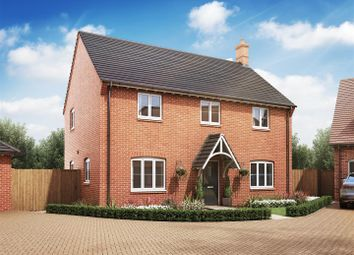 Thumbnail 4 bed detached house for sale in Cropston Road, Anstey, Leicester