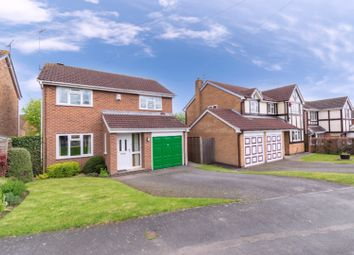 Thumbnail 4 bed detached house for sale in Foxglove Close, Leicester