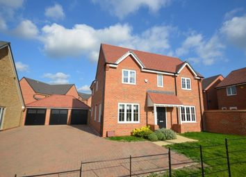 Thumbnail 4 bedroom detached house for sale in Home Farm Drive, Buckton Fields, Northampton