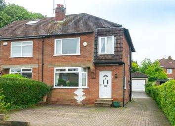 Thumbnail 3 bed semi-detached house for sale in Buckstone Oval, Leeds, West Yorkshire