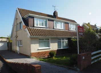 Thumbnail 3 bed semi-detached bungalow for sale in Beaufort Gardens, Swansea