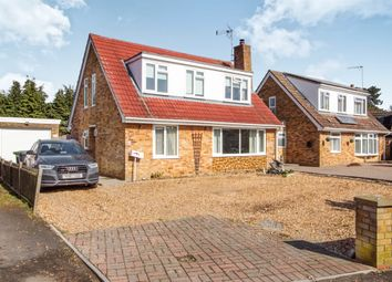 Thumbnail 4 bed detached house for sale in Sandringham Crescent, North Wootton, King's Lynn