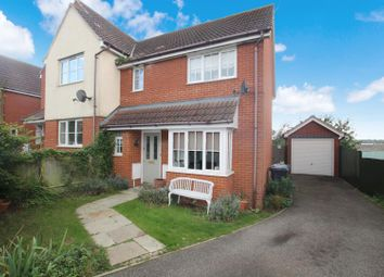 Thumbnail 3 bed terraced house for sale in Draymans Way, Ipswich