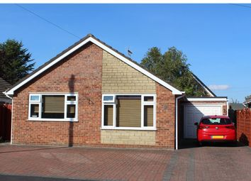 Thumbnail 2 bed bungalow for sale in Poplar Crescent, Bourne