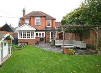 Thumbnail 4 bed detached house for sale in Station Road, Long Marston, Herts.