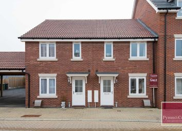 Thumbnail 3 bed terraced house for sale in Brian Mccarter Gardens, Queens Hill, Norwich