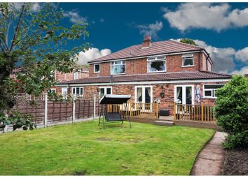 Thumbnail 3 bed semi-detached house for sale in Salisbury Road, Urmston