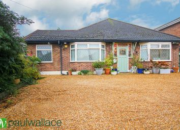 Thumbnail 3 bed detached bungalow for sale in Newgatestreet Road, Goffs Oak, Waltham Cross