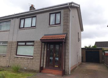 Thumbnail 3 bed semi-detached house for sale in Finlayson Drive, Airdrie