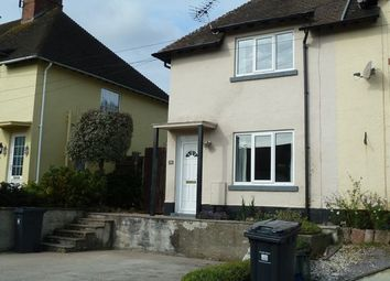 Thumbnail 2 bed semi-detached house to rent in Arcot Park, Sidmouth