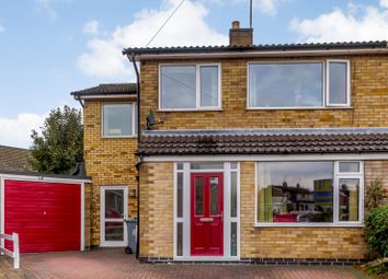 Thumbnail 4 bed semi-detached house for sale in Elton Close, Stamford