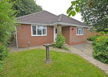 Thumbnail 4 bed detached bungalow for sale in Yarnhams Close, Four Marks, Alton, Hampshire