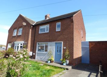 Thumbnail 2 bed semi-detached house for sale in Woodlea, Newbiggin-By-The-Sea