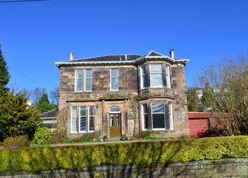Thumbnail 4 bedroom detached house for sale in The Crescent, Clarkston, Glasgow