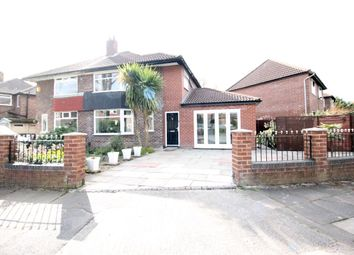 Thumbnail 3 bed semi-detached house for sale in Kenmore Road, Manchester