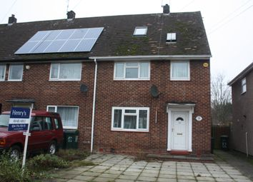 Thumbnail 4 bed property to rent in Gerard Avenue, Coventry