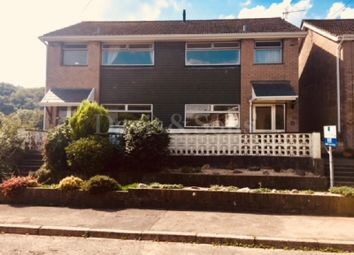 Thumbnail 3 bed semi-detached house to rent in Hafod Road, Ponthir, Newport, South Wales.