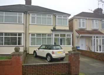 Thumbnail 3 bed semi-detached house for sale in Pilch Lane East, Huyton, Liverpool