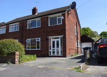Thumbnail 4 bed semi-detached house for sale in Lorna Grove, Gatley, Cheadle