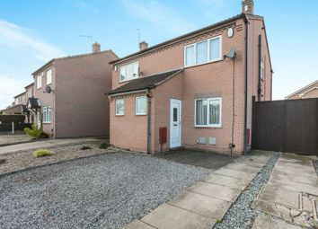 Thumbnail 2 bed semi-detached house for sale in Polperro Way, Hucknall, Nottingham
