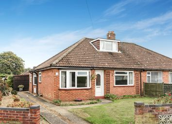 Thumbnail 3 bed bungalow for sale in Longfields Road, Thorpe St. Andrew, Norwich