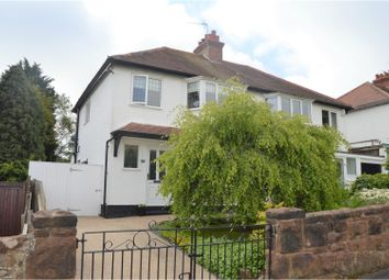 Thumbnail 3 bed semi-detached house for sale in Penmon Drive, Heswall